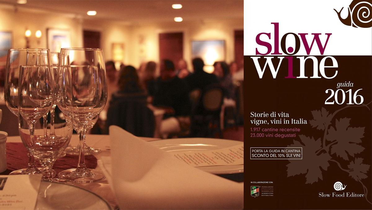 """""""Slow Wine e Osterie d'Italia 2016"""": degustazioni e solidarietà"""