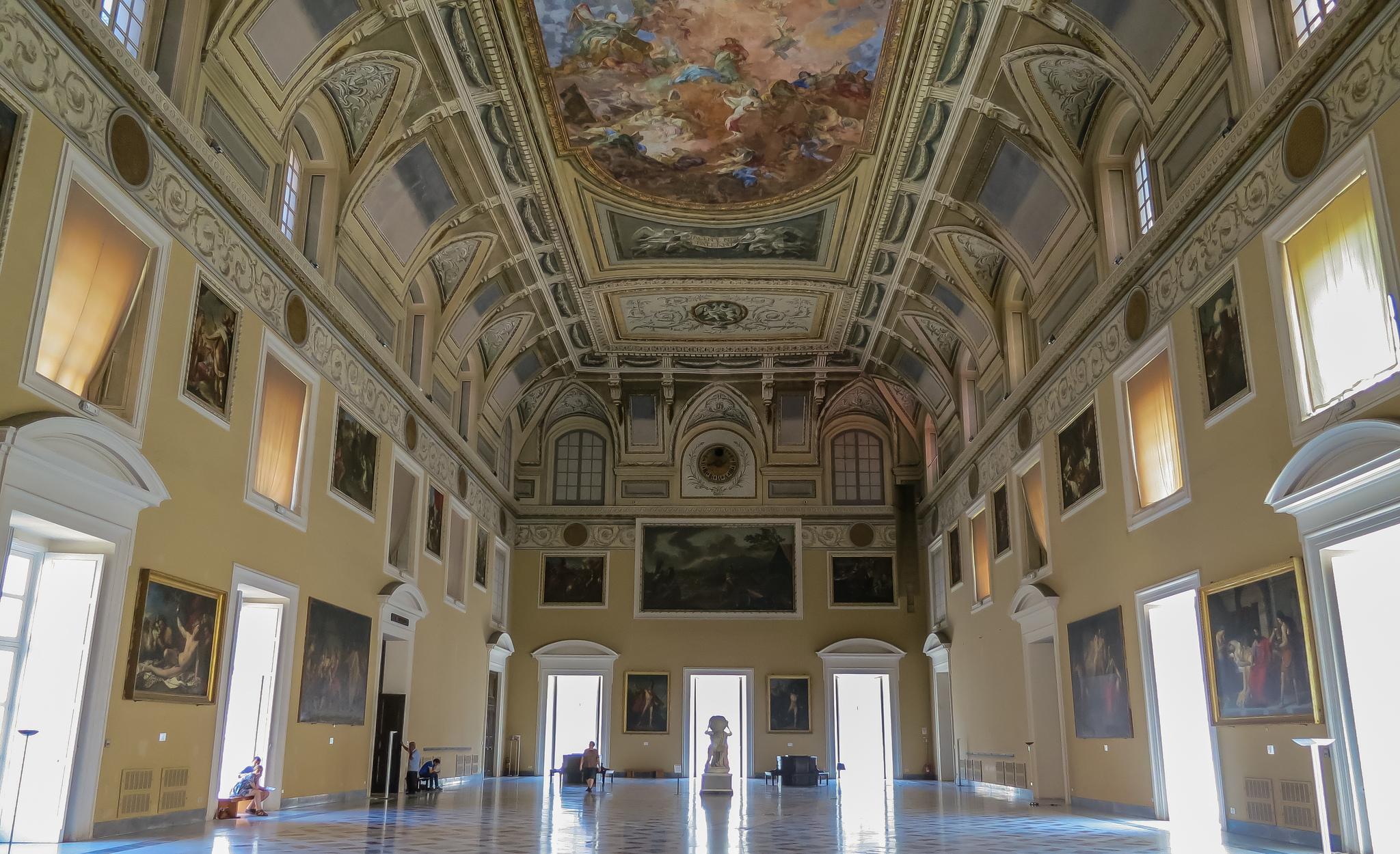 Carlo III e il Cuoco Galante al Museo Archeologico Nazionale di Napoli