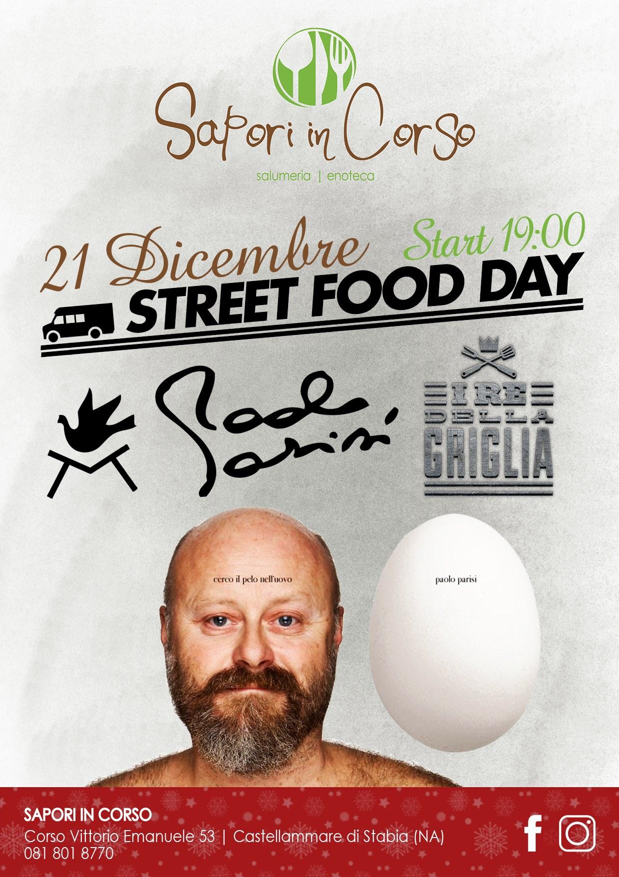 Street food day con Paolo Parisi a Sapori in Corso