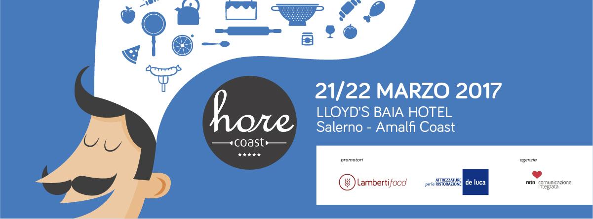 HoReCoast, il 21 e 22 marzo 2017 la IV edizione al Lloyd's Baia Hotel