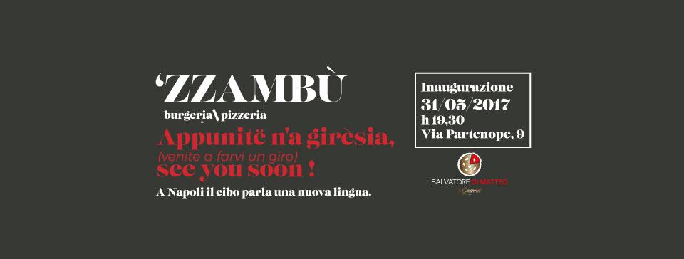 A Napoli il cibo parla una nuova lingua grazie a 'ZZAMBù