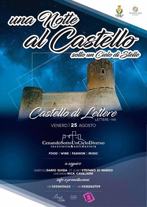 """"""" Notte al Castello sotto un cielo di stelle"""""""