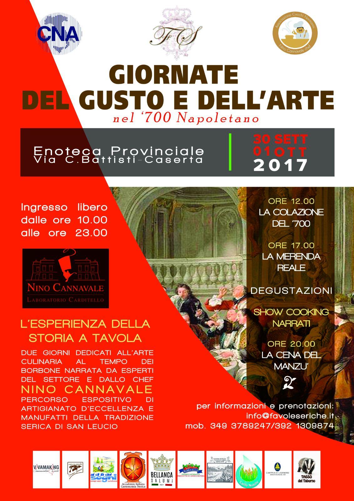 Giornate del Gusto e dell'Arte nel '700 napoletano