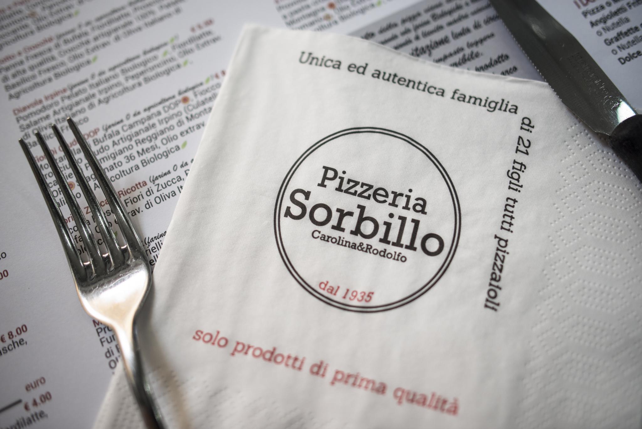 Rodolfo Sorbillo e la sua pizza napoletana a Salerno.