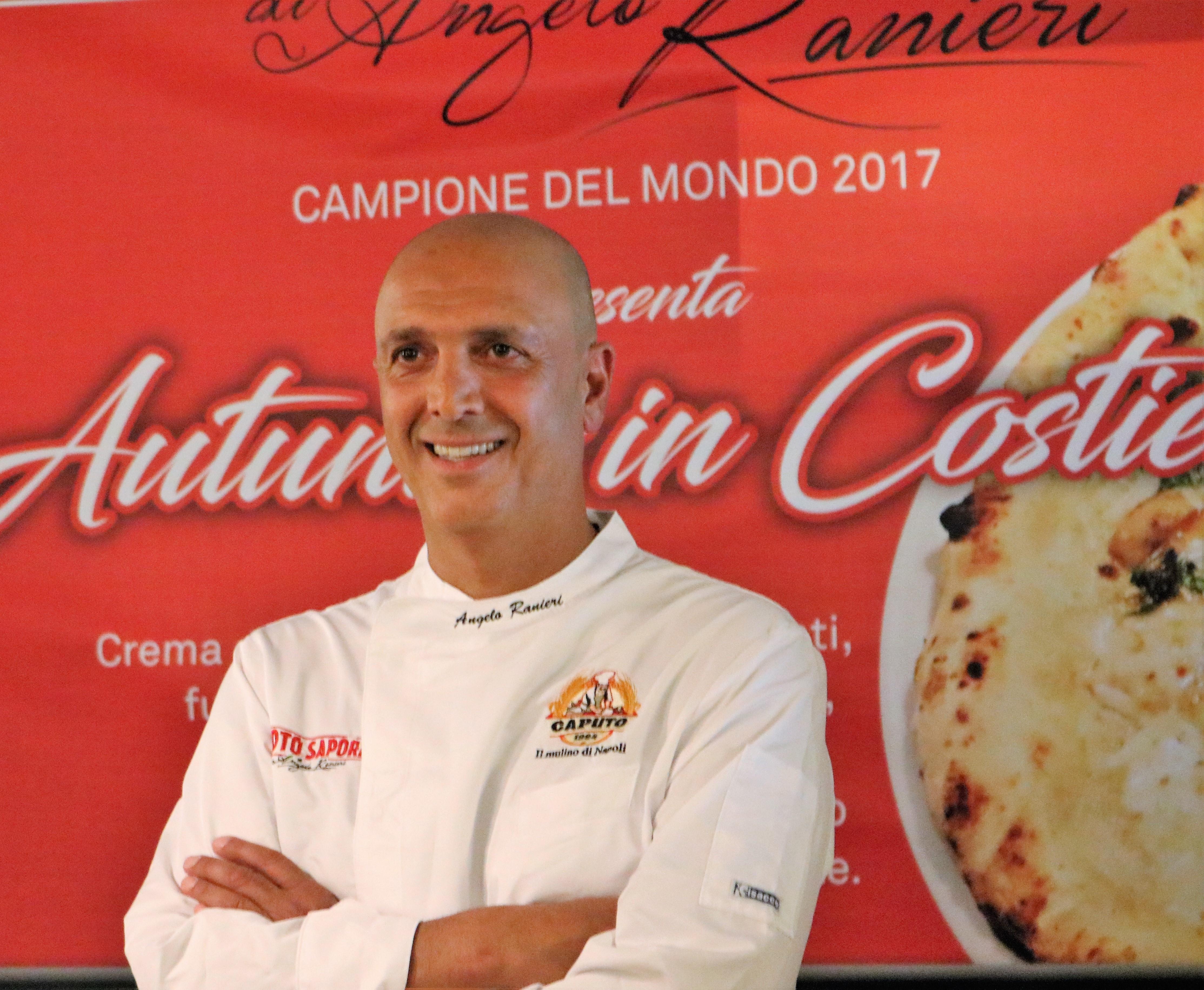 Angelo Ranieri presenta le sue proposte di Pizza e Cucina.