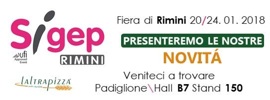 LaLtrapizza al Sigep di Rimini con Paolo Parisi presenta le eccellenze regionali.