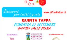 "Quinta tappa per "" Di Food in Tour – Itinerari per tutti i Gusti """