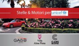 Stelle & Motori per Unicef, venerdì 12 ottobre
