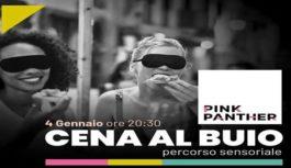 """""""Cena al buio"""": evento esclusivo al Pink Panther"""