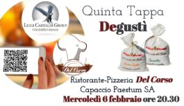 V tappa Degustì al Ristorante-Pizzeria Del Corso