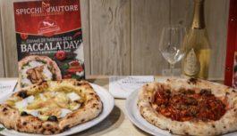 Spicchi d'Autore e Biancobaccalà. Insieme per una pizza speciale.