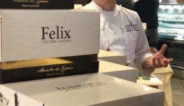 Aniello Di Caprio accende la Pasqua con Felix, capolavoro dolce