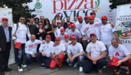 Pizza a Vico, il miglior metro di pizza. Sul podio i giovani dell'arte bianca