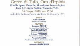 """Seconda edizione di """" Greco di Tufo, oro d'Irpinia"""""""