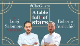 "Salomone e Auricchio per l'evento ""A table full of Stars"""