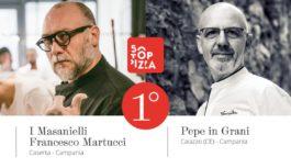50 TOP PIZZA: Martucci e Pepe ex aequo