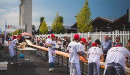 I pizzaioli del Napoli Pizza Village a Fico Eataly World