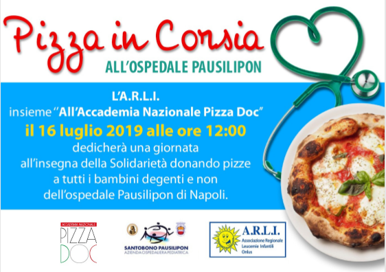 pizza in corsia