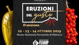 Eruzioni del gusto,  la seconda edizione dal 12 al 14 ottobre