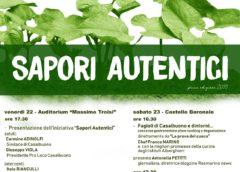 Sapori Autentici a Casalbuono al via la prima edizione